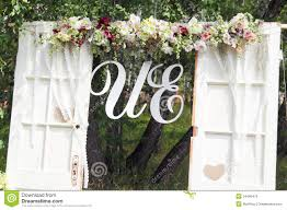 Wedding Arch Decorations Wedding Arch Royalty Free Stock Images Image 34466479