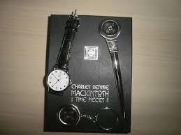charles rennie mackintosh gift set watch key ring letter opener 310468499