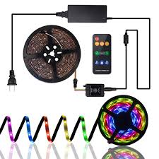 Meil Led Lights Led Strip Lights Sync To Music Led Strip Lights Chase In A Line Waterproof Led Lights Strip Kit Rgb 5050 Led Rope Lights With 360 Degree Signals Rf