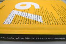 design culture acirc hong kong polyu design blog seventy nine short essays on design by michael bierut princeton architectural press 2007