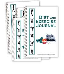Diet Workout Journal Diet And Exercise Journal