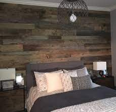 kristy s master bedroom reclaimed wood