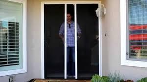 Exterior: Larson Screen Away | Larson Retractable Screen Door | Pull ...