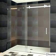 cost of glass shower door post cost of frameless glass shower doors