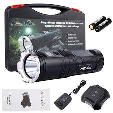 Omega Light Flashlight Helius Tactical Wireless Rechargeable Led Flashlight Omegavi