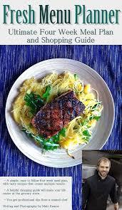 four week meal planner newsletterfresh menu planner