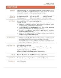Accountant Achievements In Resumes 1 Sample Accounting Resume
