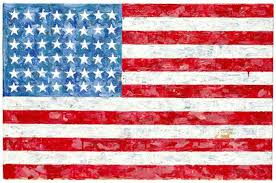 jasper johns flag from collection of late sci fi author michael