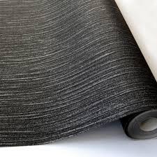 Glitter Behang Glitz Glanzende Sparkle Getextureerde Luxe Vinyl Zwart Grijs Zilver