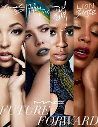 tinashe halsey lion and dej loaf for mac cosmetics future forward caign exclusive hollywood reporter
