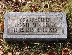 """Jessie May """"Minnie"""" Sims Zedeck (1876-1950) - Find A Grave Memorial"""