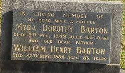 Myra Dorothy Barton (1906-1949) - Find A Grave Memorial