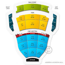 Abiding Nashville Performing Arts Center Seating Chart Best