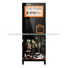 Premix Tea Powder For Vending Machine Amazing China Automatic Instant Coffee Vending Machine From Changde