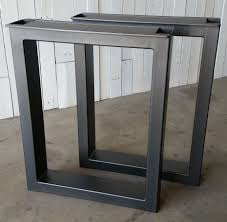 contemporary metal furniture legs. Perfect Custom Made Metal Table Legs By Urban Ironcraft In Contemporary Furniture