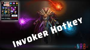 dota 2 reborn invoker hotkey youtube