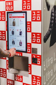 Uniqlo Vending Machine Simple Uniqlo's Airport Vending Machines Sell Its UltraLight Down Jackets