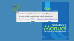 Formatting A Citation In Apa Using In Ebscohost