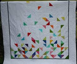 Half Square Triangle Quilts – co-nnect.me & Half Square Triangle Quilt Block Tutorial Half Square Triangle Quilt  Instructions Queen Size Modern Quilt Falling Adamdwight.com