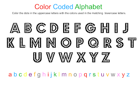 Uppercase alphabet mini cards (colorful version). Alphabet Coloring Sheet Free Printable No Time For Flash Cards