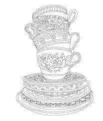Small Picture 738 best Adult ColouringCoffeeTeaCakes images on