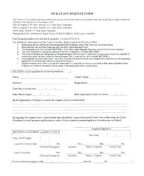 Leave Of Absence Form Template Leave Forms Template Of Absence Sample Policy Medical Form