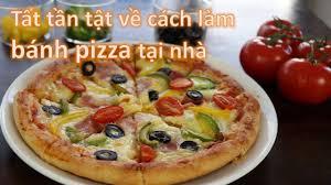 Tất tần tật về pizza: 2 công thức đế bánh truyền thống và cấp tốc, dùng lò  và không dùng lò nướng - YouTube trong 2020 | Bánh pizza, Đế bánh, Đế bánh  pizza