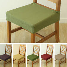 dining chair seat covers. Dining Chair Seat Covers Stretch Cover Protector Replacement 2 Set R