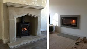 arria sandstone traditional style fireplace and hearth and grey granite contemporary surround and hearth