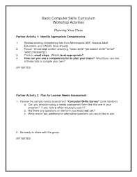 Basic Skills Resume Sample Free Resume Templates