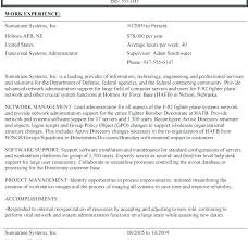 Usa Jobs Sample Resume Top Rated Resume Template Easy Resume