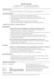 Event Planner Resume Wedding Event Planner Resume Special Events