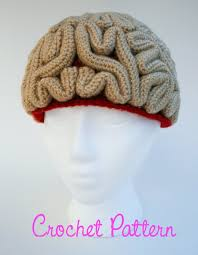 Brain Hat Crochet Pattern