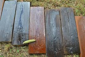 2 pieces set molds old wooden boards concrete mould garden stepping stone path road brick mold yard diy decoration in garden ornaments