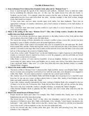r fever summary essay but through the negative aspects of  7 pages nhung cau hoi tham khao ve r fever