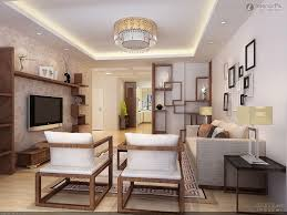 modern asian style living room wall decor ideas with fiber grey sofa also black white frame wall art plus wooden wall shelveodern mount tv wall units