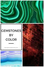 Semi Precious Stone Color Chart Gemstone Colors List Of Gemstones By Color Gem Rock Auctions