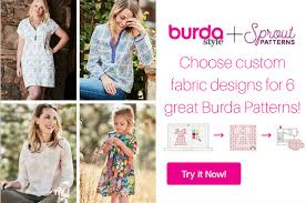 Sprout Patterns Classy Announcing Sprout BurdaStyle Collaboration Sewing Blog