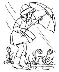 Small Picture April Shower Before Springtime Coloring Page Download Print