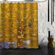 the tree of life shower curtain w curtain hooks
