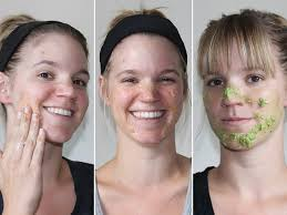 i tried 7 popular diy face masks and here are the ones that actually worked