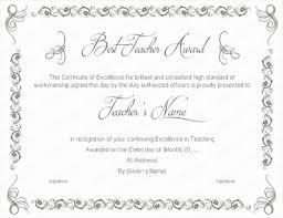 Best Teacher Certificate Templates Free Diploma Templates Free Printable Award Certificate Template