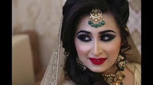arabic bridal makeup by kritids