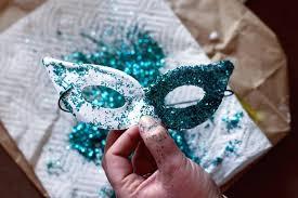diy mardi gras masks easy mask template