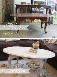 Diy Coffee Table Painted Coffee Table Antique Grey Coffee Table Distressed