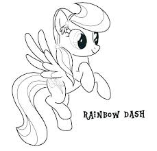 My Little Pony Friendship Is Magic Coloring Pages Free Free