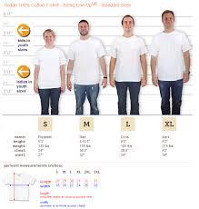 Gildan 5000 Size Chart T Shirt Size Chart Pinegrove
