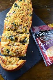 Bacon And Kale Cheese Bread Lifes Ambrosia