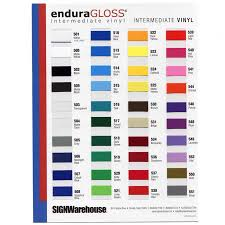 Oracal Vinyl Color Chart Pdf Enduragloss Vinyl Color Chart