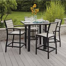 outdoor resin swivel armchair mixed square glass top dining table as well as patio bar height table and chairs